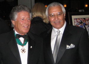 Mario Andretti and Joe Bruno