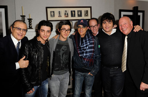 Il Volo at Ron Fair's house