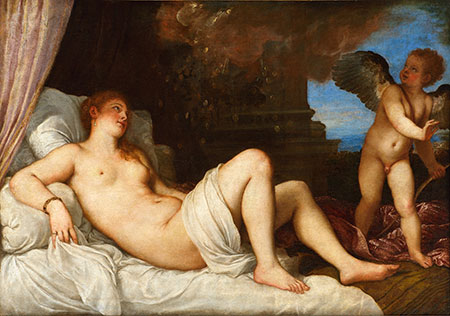 Titian's Danae at National Gallery of Art